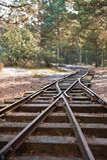 Chemin de fer abandonné photos libres de droits
