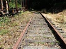 Chemin de fer abandonné Images libres de droits