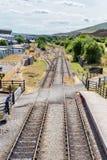 Chemin de fer d'héritage dans Pontypool et Blaenavon, Pays de Galles, R-U photos libres de droits