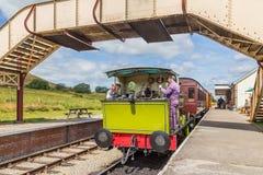Chemin de fer d'héritage dans Pontypool et Blaenavon, Pays de Galles, R-U photographie stock