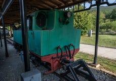 Chemin de fer d'héritage en Serbie Images stock