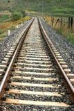 Chemin de fer dans la campagne Photo libre de droits