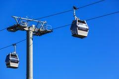 Chemin de fer de câble Photographie stock