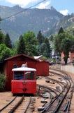 Chemin de fer de dent maximal de brochets Photo libre de droits