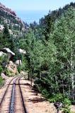 Chemin de fer de dent maximal de brochets Image libre de droits