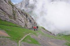 Chemin de fer de jauge étroite. Images stock