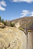 Chemin de fer de l'Alaska Photographie stock libre de droits