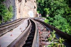 Chemin de fer de la mort Images libres de droits
