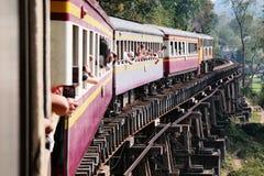 Chemin de fer de la mort photographie stock