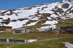Chemin de fer de montagne Photographie stock libre de droits