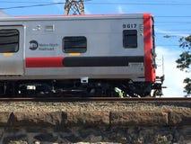 Chemin de fer de Métro-nord de Stamford Photos stock