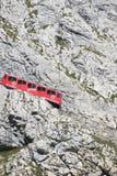 Chemin de fer de Pilatus, Suisse Images libres de droits