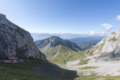 Chemin de fer de Pilatus, Suisse Photo stock