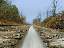 Chemin de fer de POV Photo stock