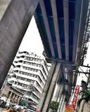 chemin de fer de transit de Manille Image libre de droits