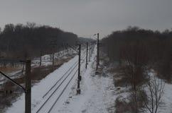 Chemin de fer de Zinmyaya photographie stock libre de droits