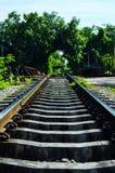 Chemin de fer en Thaïlande Image stock