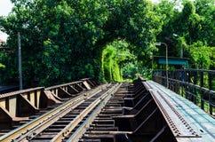 Chemin de fer en Thaïlande Photographie stock