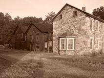Chemin de fer est de Broadtop Image stock