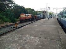 Chemin de fer indien photo stock