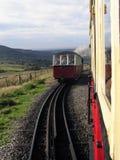 Chemin de fer Pays de Galles de montagne de Snowdon Photo libre de droits
