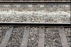 Chemin de fer pour la métro Image libre de droits