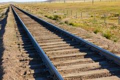 Chemin de fer de Transmongol, chemin de fer à voie unique image libre de droits