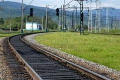 Chemin de fer transsibérien Photographie stock