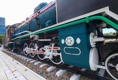 Chemin de fer de vieux train Image libre de droits