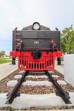 Chemin de fer de vieux train Photos libres de droits