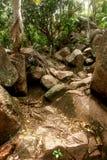 Chemin de granit Images libres de droits