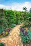 Chemin de jardin Images libres de droits