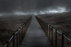 Chemin de la crainte Photographie stock