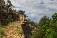 Chemin de la maison de Lycian Image stock