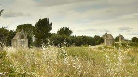 Chemin De Los angeles Croix, Gignac Francja zbiory
