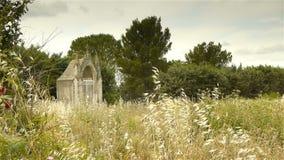 Chemin De Los angeles Croix, Gignac Francja zbiory wideo
