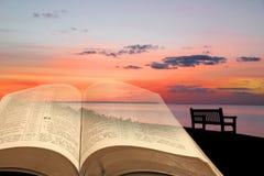 Chemin de lumière spirituelle Image libre de droits