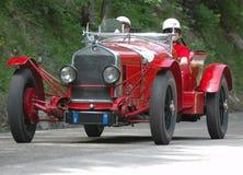 Chemin de Mille Miglia (*) Image libre de droits