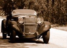 Chemin de Mille Miglia (*) Images stock