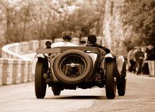 Chemin de Mille Miglia (*) Photo stock