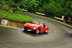 Chemin de Mille Miglia 2010 Image stock