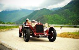 Chemin de Mille Miglia 2010 Photographie stock libre de droits