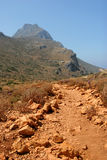 Chemin de montagne Photographie stock libre de droits