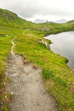 Chemin de montagne Image libre de droits