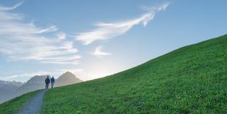 Chemin de Mounten Image stock
