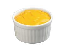 chemin de moutarde de découpage Photo stock