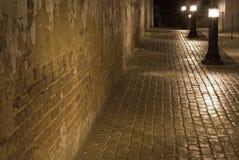 Chemin de nuit Images stock