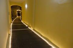 Chemin de nuit de mystère Photos libres de droits