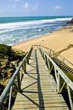 chemin de plage à Image libre de droits