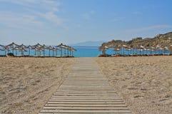 Chemin de plage Photo stock